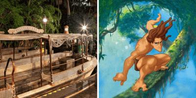 Jungle Cruise Tarzan