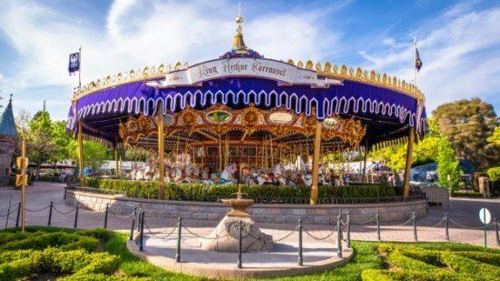 King Arthur's Carousel Fantasyland