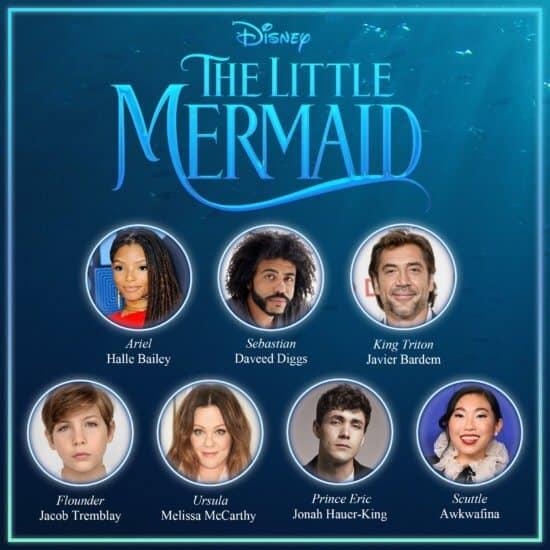 Little Mermaid Cast
