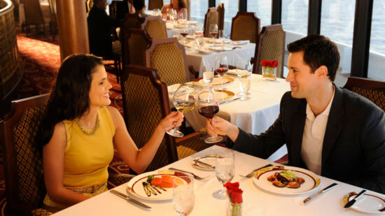 diners at Palo on Disney Cruise Line