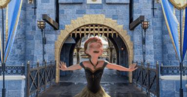 Anna Frozen Castle