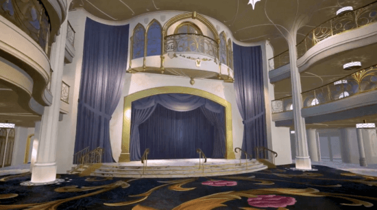Grand Hall Stage Disney Wish