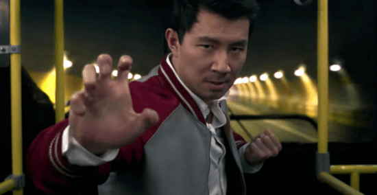 Simu Liu as Shang-Chi master of kung fu in Marvel Shang Chi adn the legend of the ten rings
