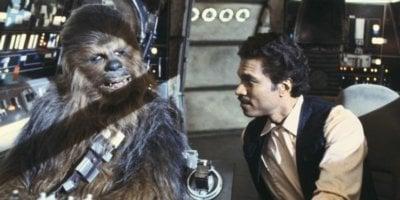 Lando in Han's clothes