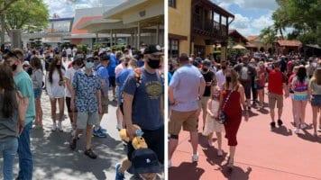 Easter weekend crowds at disney world