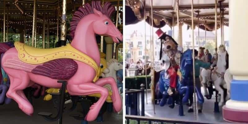 goofy carousel