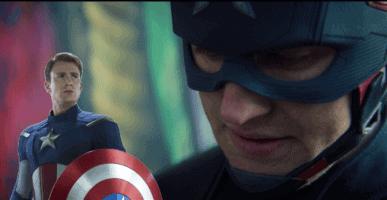 john walker and steve rogers as captain america