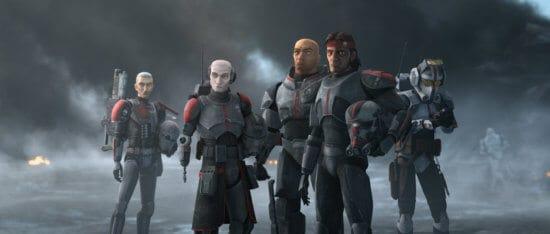 bad batch clone force 99 helmets off