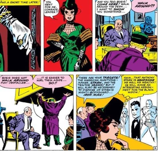 comics black widow