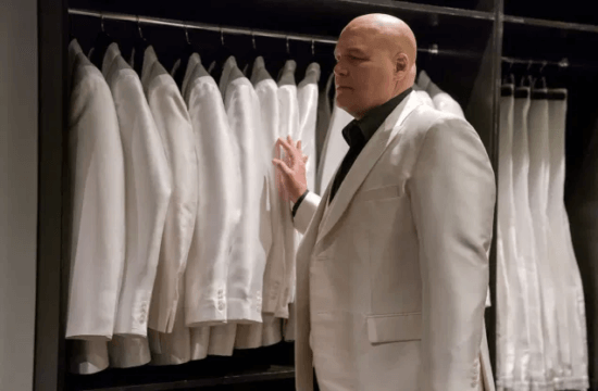vincent d'onofrio as wilson fisk AKA kingpin in daredevil