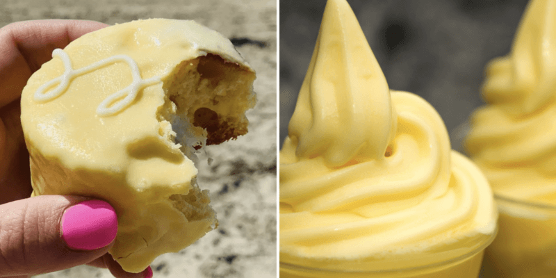 dole whip ding dong (left) and disney dole whip (right)