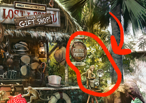 Jungle Cruise Ride Photo monkey