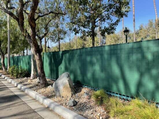go away green fence disneyland