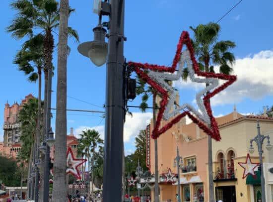 hollywood studios christmas decorations