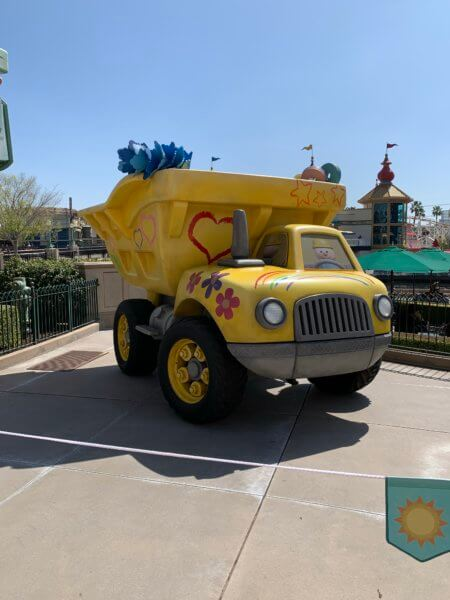 Lotso's Dump truck