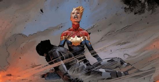 iron man captain marvel