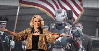 joan rivers and war machine avengers