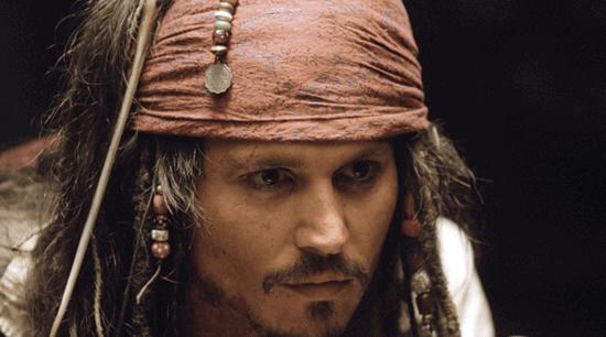 johnny depp as jack sparrow close-up