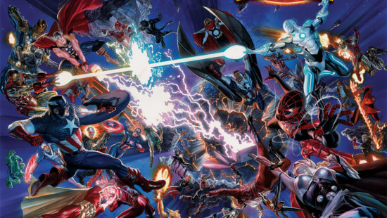 marvel multiverse secret wars comic book