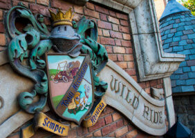 mr toad's wild ride sign
