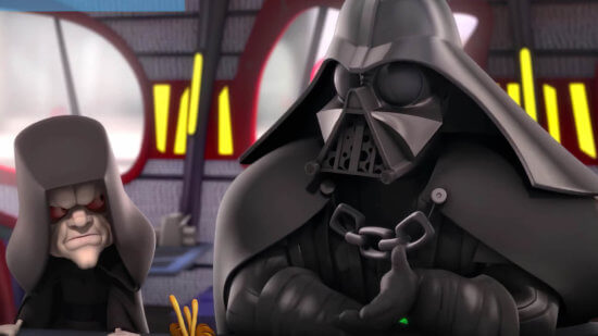 palpatine and vader in star wars detours