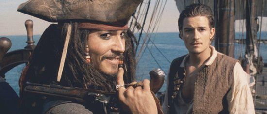 pirates of the caribbean film franchise