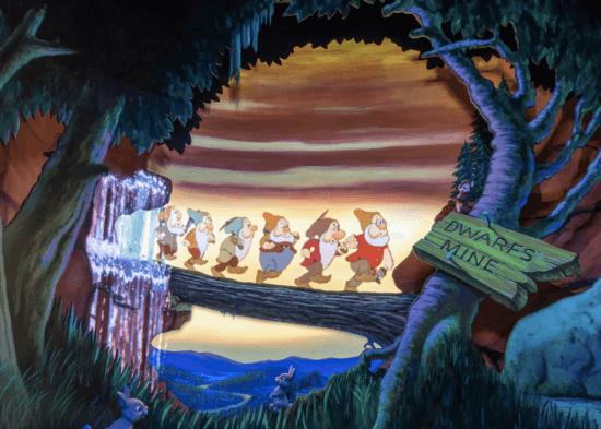 seven dwarfs footage snow whites enchanted wish