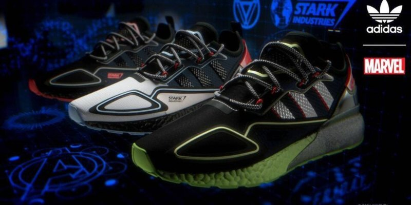 Stark Industries Adidas sneaker collection