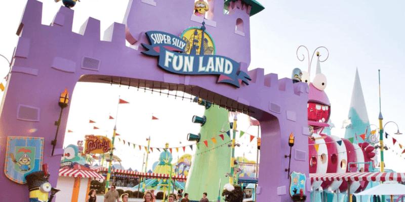 universal studios hollywood super silly fun land