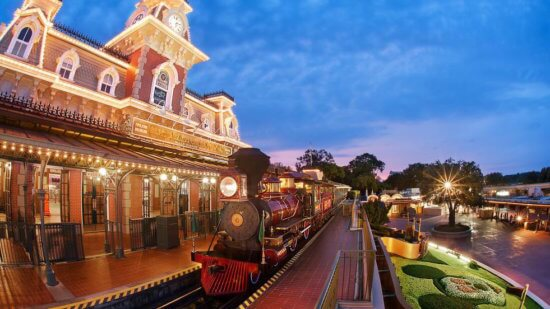 Disney World Train