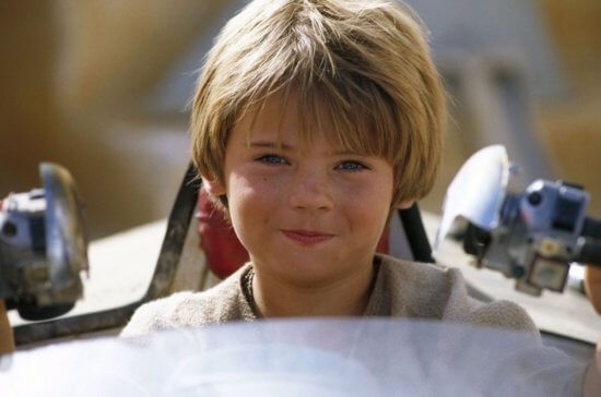 young anakin driving