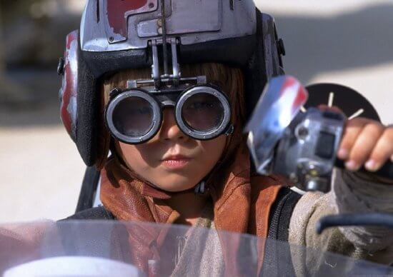 young anakin podracer