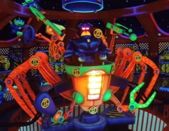 zurg spaceship buzz lightyear space ranger spin Galactic Hero