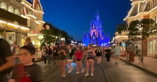 disney world guests magic kingdom