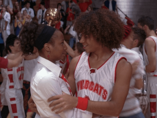 chad and taylor high school musical