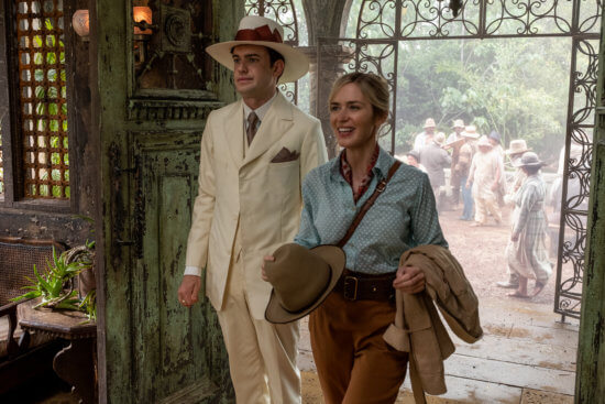 JUNGLE CRUISE lily houghton and Macgregor
