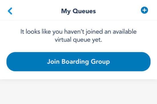 Disneyland app virtual queue
