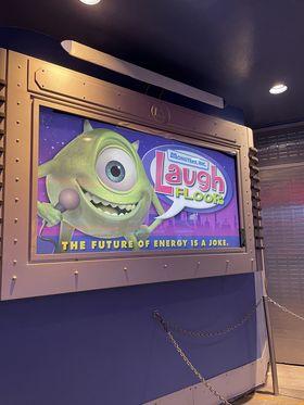 Laugh Floor Sign
