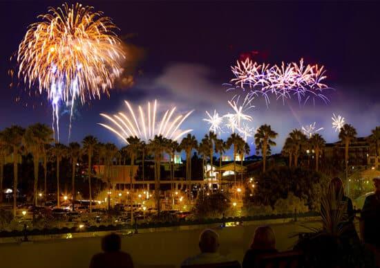 Paradise Pier Fireworks