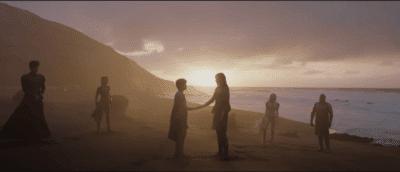 eternals at sunset