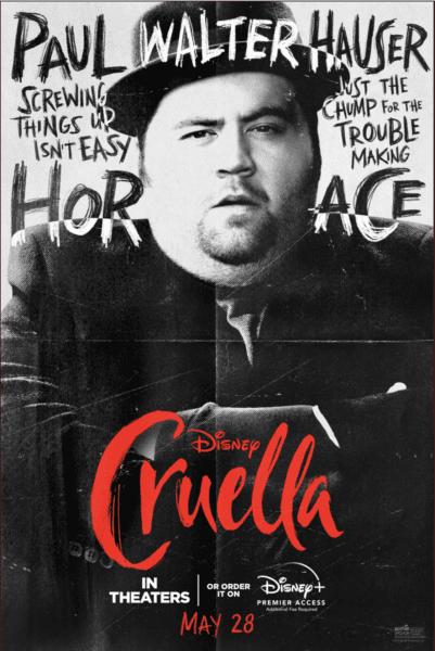 Horace Cruella Poster