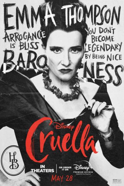 Baroness Cruella Poster