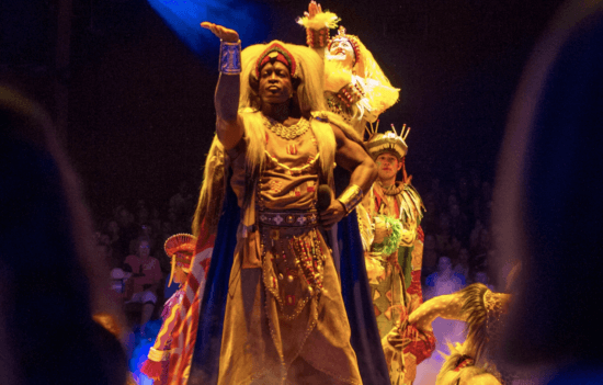 festival of the lion king stage show