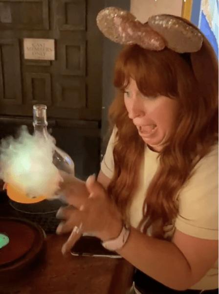 smoke bubble tequila secret disney