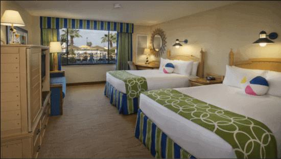 Paradise Pier Hotel Room