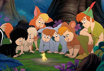Lost Boys Peter Pan