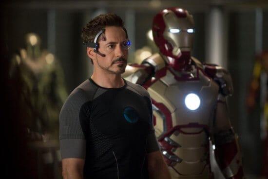 tony stark as iron man