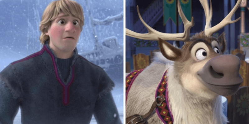frozen theory - sven's mom