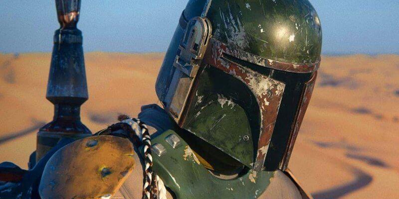 boba fett helmet close up