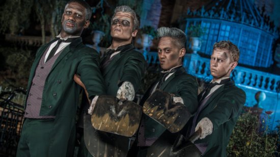 grave diggers haunted mansion